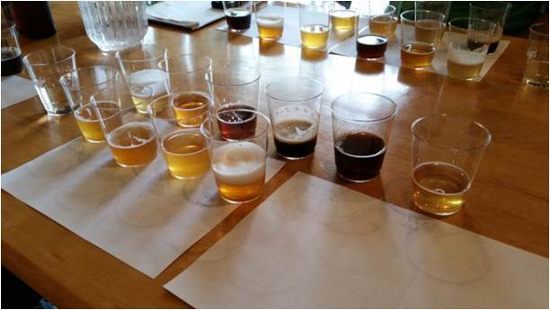 S eubayanus beers flight