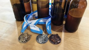 S. eubayanus brewing experiment medals