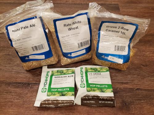 barleywine ingredients